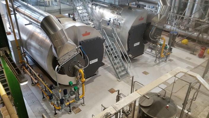 aanleggen gasleidingen Heineken